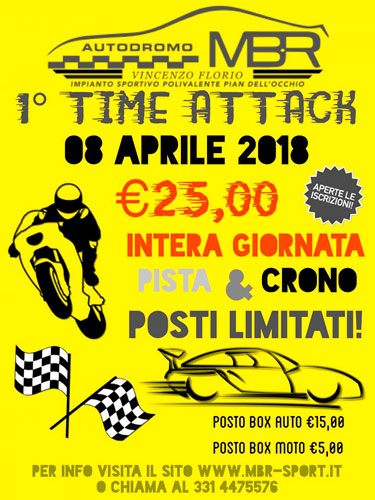 1° round Time Attack MBR