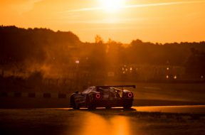 The-69-Ford-GT-at-sunset-at-Le-Mans