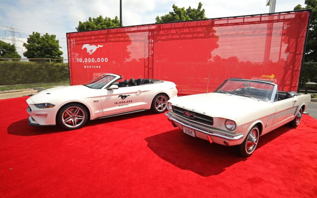 Ford Mustang: l'esemplare n. 10.000.000!