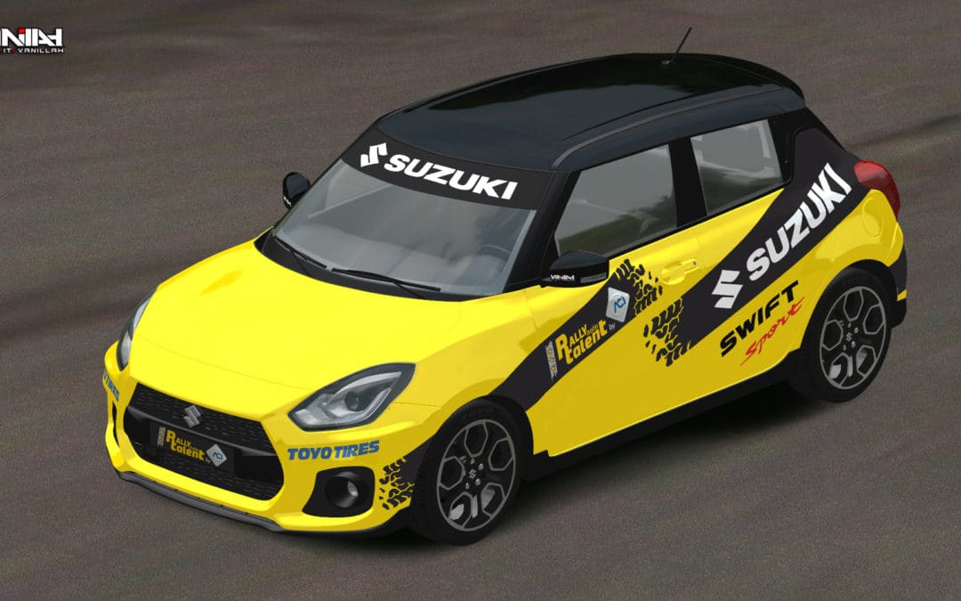 Suzuki Swift Sport con Aci Rally Italia Talent